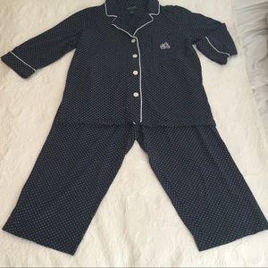 Ralph Lauren Capri Pajama Set